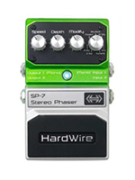 Hardwire sp7 stereo phaser