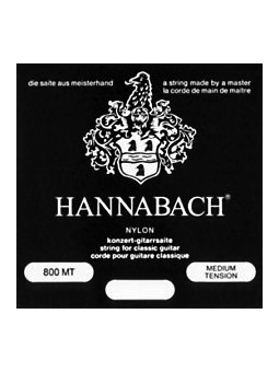 Hannabach Set 800 Medium tension Silver plated