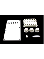Allparts PG-0549-025 Kit for Stratocaster White