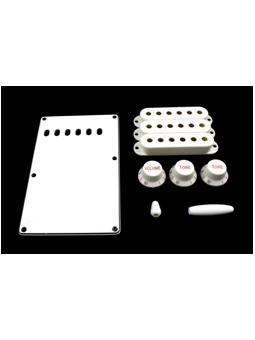 Allparts PG-0549-025 Kit for Stratocaster White