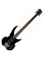 Warwick RockBass Vampyre (5) Black High Polish