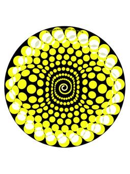 Zomo Slipmat Balls Yellow