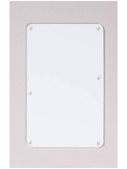 Allparts PG-0576-025 Spring Cover White