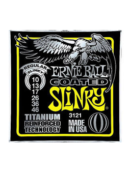 Ernie Ball 3121 - Coated Regular Slinky