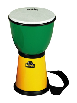 Nino NINO18G/Y - ABS DJEMBE, Green/Yellow