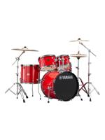 Yamaha Rydeen Fusion Hot Red w/Cymbals