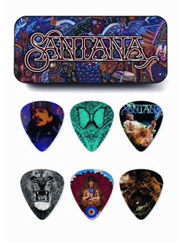 Dunlop Carlos Santana Picks Box