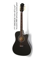 Epiphone FT-350SCE Black.