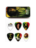 Dunlop BOB-PT01M Bob Marley Rasta Mesium Picks