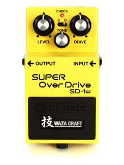 Boss SD1W Super Overdrive Waza Craft