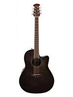 Ovation CS24P-4Q Celebrity Standard Plus Black Flame Maple