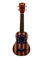 Makala Ukulele Usa flag Ukadelic