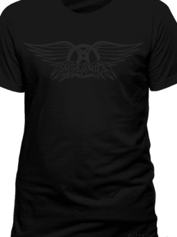 Cid Aerosmith black on black wings L