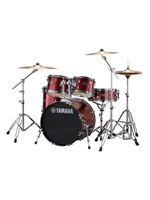 Yamaha Rydeen Fusion Burgundy Glitter w/Cymbals