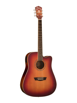Washburn WD7SCE Antique Cherry Sunburst