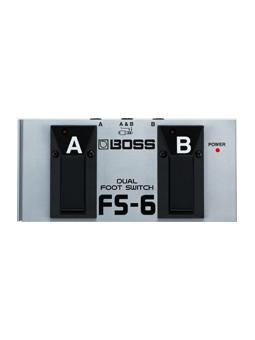 Boss Fs 6 Dual Footswitch