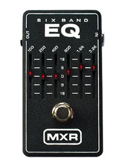 Mxr M-109 6 Band Equalizer