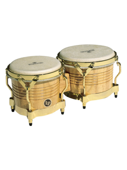 Lp M201-AW Matador Bongos, Natural/Gold Hardware