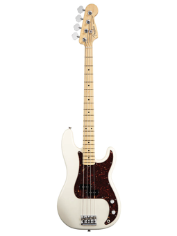 Fender American Standard Precision Bass Olympic White  Mn