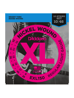 Daddario EXL150 Nickel Wound, 12-String