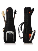 Mono Cases M80 Dual Bass Case Jet Black