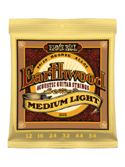 Ernie Ball 2003 - Earthwood Medium Light