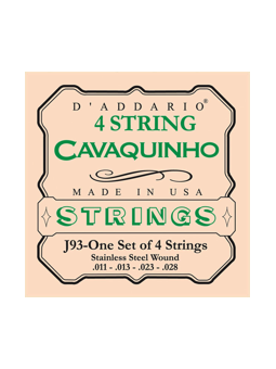 Daddario J93 Cavaquinho Strings