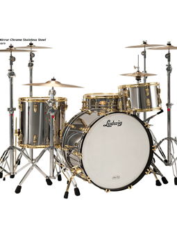 Ludwig Stainless Steel Kit Anniversary Edition