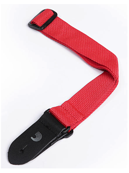 Planet Waves Polypropylene Ukulele Strap - Red