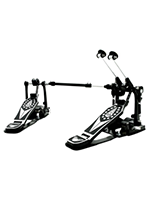 Taye PSK602C Doppio Pedale Double Pedal