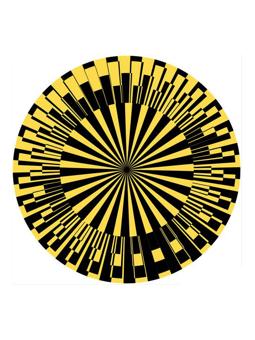 Zomo Slipmat Scope Yellow
