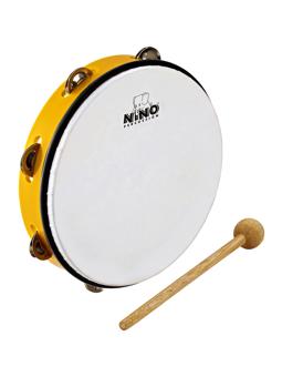 Nino NINO24Y - ABS Tambourine 10