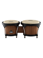 Nino NINO3WB-BK Wood Bongos Walnut/Black