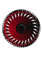 Zomo Slipmat Dance Red