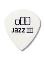 Dunlop Tortex Jazz III White 0.88m