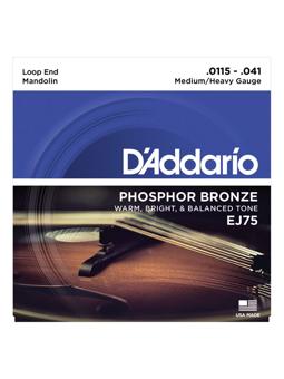 Daddario J75 Mandolin Phosphor Bronze