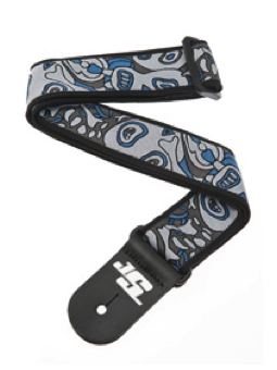 Planet Waves Joe Satriani Guitar Strap, Souls of Distortion