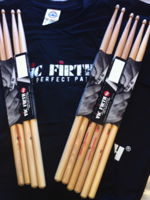 Vic Firth 5ACL + BAG + T-SHIRT MANICA LUNGA TG M