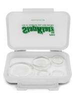 Slapklatz SlapKlatz Pro - Sordine in Gel per Batteria - Drum Damper Gel Pads - Clear