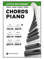 Volonte LITTLE DICTIONARY CHORDS PIANO