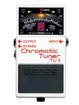 Boss Tu3 Chromaric Tuner