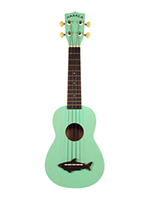 Makala Ukulele Soprano Surf Green, Vintage Satin Finish