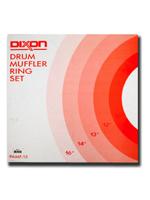 Dixon PAMF-15 - Set di sordine ad anello per batteria - Drum tone-control ring set