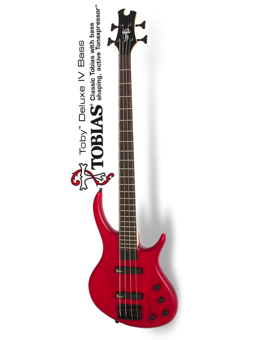 Tobias Toby Deluxe IV Trans Red
