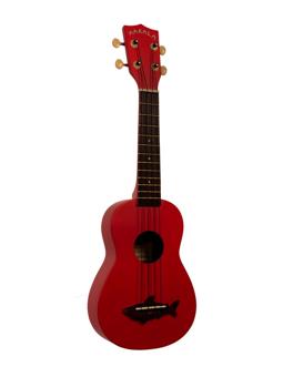 Makala Ukulele Soprano Red Vintage Satin