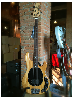 Music Man Stingray 4 Natural RW