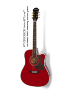 Epiphone FT-350SCE Wine Red