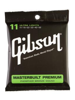 Gibson SAG-MB11 Masterbuilt Phosphor Bronze