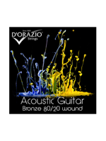 D'orazio 80/20 Acoustic Bronze 12/53