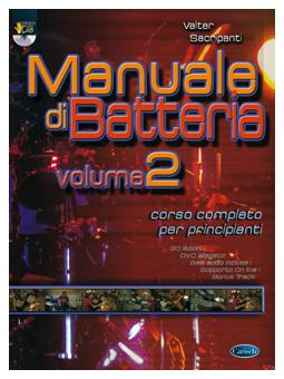 Volonte Manuale di Batteria V.2 + DVD